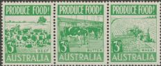 SG 255a ACSC 287d. Produce Food - 3d Food strip (AE1/158)